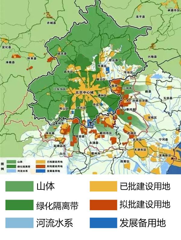 北三县与通州统一规划 副12公里