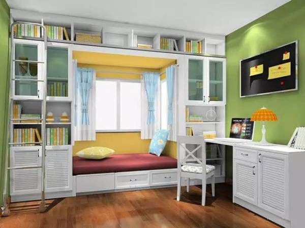 三平米书房装修效果图