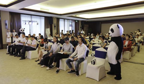 电影《熊猫超人》举办开机发布会